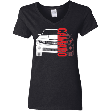 Camaro 5th Gen Double Sided V-Neck T-Shirt