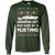 Ford Mustang Classic Ugly Christmas Grandma Got Run Over by a Mustang T-Shirt Long Sleeve