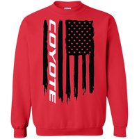 Coyote Ford Mustang Flag Crewneck Pullover Sweatshirt S550 S197 F-150