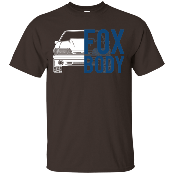 Foxbody GT Mustang Double Sided T-Shirt
