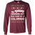 Chevy Colorado Grandma Got Run Over Ugly Christmas Long Sleeve T-Shirt
