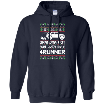 Toyota 4Runner Grandma Got Run Over Ugly Christmas Pullover Hoodie