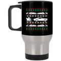 Wheel Spin Addict Mustang Christmas Stainless Travel Mug