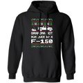 Ford F-150 2009-2014 Ugly Christmas Grandma Got Run Over Pullover Hoodie