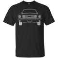 Classic Fastback Outline Ford Mustang T-Shirt