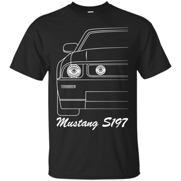 Ford Mustang S197 Outline T-Shirt 2005 2006 2007 2008 2009