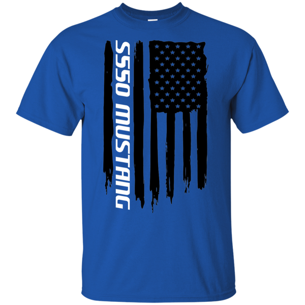 S550 Ford Mustang Coyote 5.0 Ecoboost 2015 2016 2017 2018 2019 American Flag T-Shirt