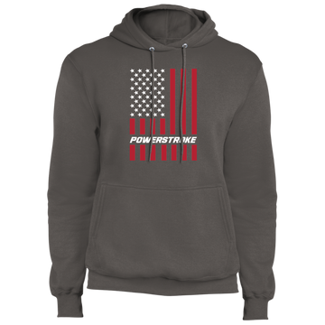 Power Stroke F-250 F-350 American Flag USA Premium Pullover Hoodie