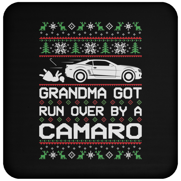 Wheel Spin Addict Camaro SS RS Christmas Coaster