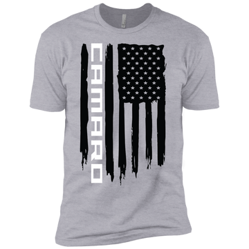 Youth Camaro SS American Flag Boys' Cotton T-Shirt