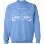 WSA Chevy Corvette C3 Outline Crewneck Sweatshirt