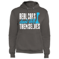Real Cars Don't Shift Themselves Manual Stick Shift Pullover Hoodie