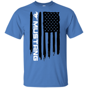 Ford Mustang American Flag T Shirt Foxbody New Edge GT 5 0 Coyote S197 S550 SN95 New