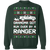 Ranger Ecoboost XL XLT Ugly Christmas Grandma Got Run Over Crewneck Sweatshirt