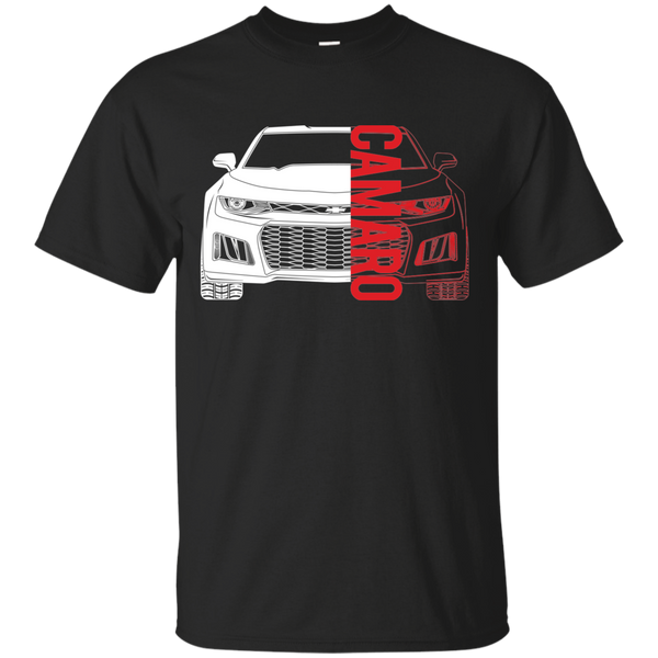 Chevy Camaro 6th Gen American Double Sided Muscle T-Shirt New