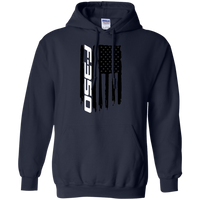 Ford F-350 Truck Flag Pullover Hoodie