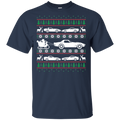 Chevy Corvette C3 C4 C5 C6 C7 Ugly Christmas Grandma Got Run Over T-Shirt
