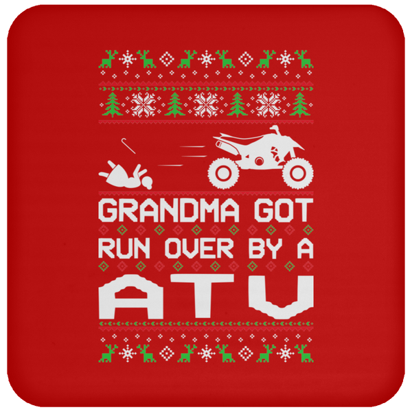 Wheel Spin Addict ATV Quad Christmas Coaster