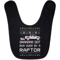 Wheel Spin Addict Raptor Truck Christmas Baby Bib