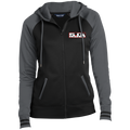 Ladies' Coyote 5.0 Ford Mustang S550 S197 Full-Zip Hooded Jacket
