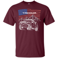 Toyota Tacoma Off-Road Overland American Flag T-Shirt