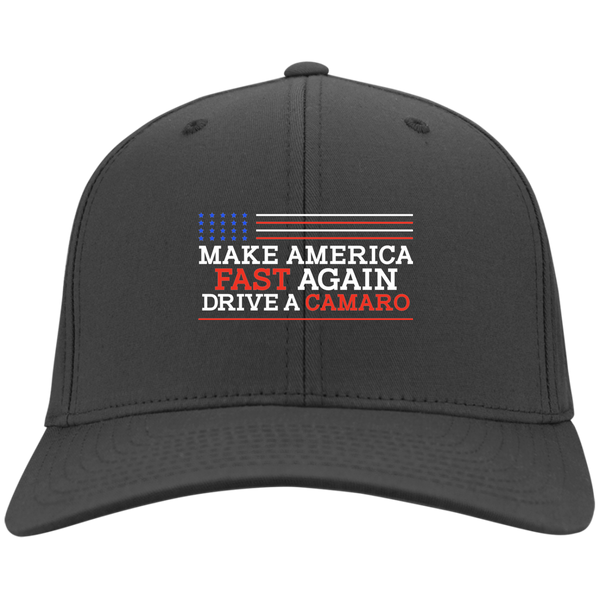 Make America Fast Again Drive a Camaro Port & Co. Twill Cap
