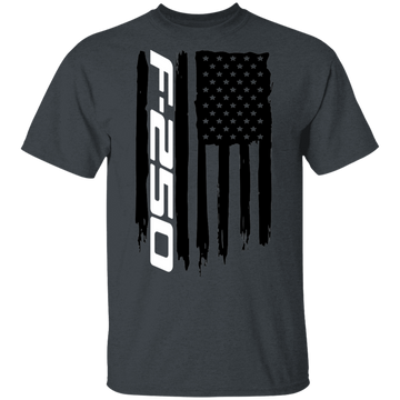 WSA F-250 F250 American Flag Power Stroke Super Duty T-Shirt