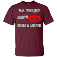 Save Your Lungs Smoke a Camaro T-Shirt