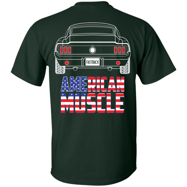 Classic Mustang Fastback American Muscle T-Shirt