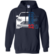 Ford Focus ST Pullover Hoodie ST2 ST3 2013 2014 2 0 Ecoboost