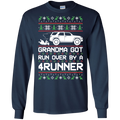 Toyota 4Runner Grandma Got Run Over Ugly Christmas Long Sleeve T-Shirt