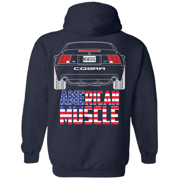 New Edge Ford Mustang Cobra Terminator 2003 2004 Pullover Hoodie