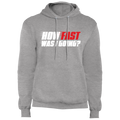 How Fast Was I Going? Racing Pullover Hoodie