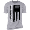 Youth 2500 LBS 6.6 Silverado Sierra American Flag Boys' Cotton T-Shirt