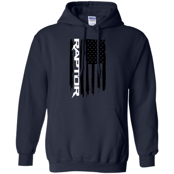 Ford Raptor Flag F-150 Pullover Hoodie