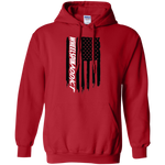 Wheel Spin Addict American Flag Pullover Hoodie