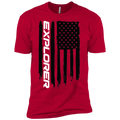 Youth Explorer SUV Ecoboost American Flag Boys' Cotton T-Shirt