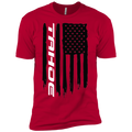 Youth Tahoe SUV American Flag Boys' Cotton T-Shirt
