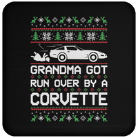 Wheel Spin Addict Corvette C4 Christmas Coaster