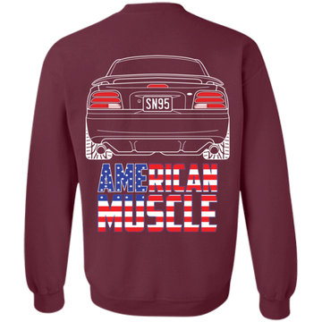 SN95 Ford Mustang American Muscle Pullover Sweatshirt 1994 1995 1996