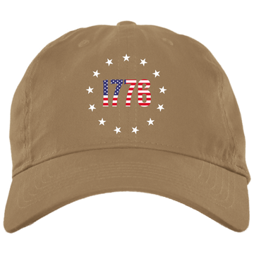 1776 Betsy Ross American Flag Unstructured Hat Cap