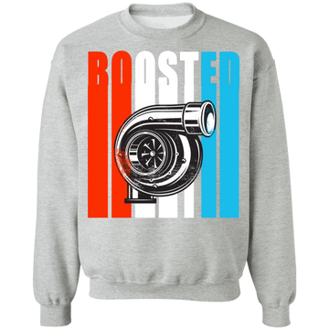Boosted3 Boosted Turbo Racing Gapped Crewneck Sweatshirt