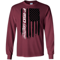 F-150 Ford Lightning American Flag T-Shirt Long Sleeve
