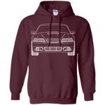 New Edge GT Ford Mustang Outline Ford Mustang Hoodie