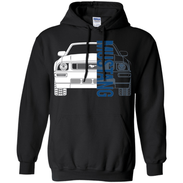 S197 Mustang Debadged Double Sided Hoodie