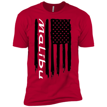 Youth Malibu American Flag Boys' Cotton T-Shirt
