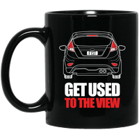 Fiesta ST 11 oz. Black Mug