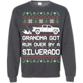 Chevy Silverado 2014-2018 Ugly Christmas Grandma Got Run Over Crewneck Sweatshirt