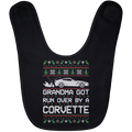Wheel Spin Addict Corvette C7 Christmas Baby Bib