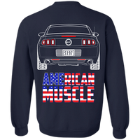 S197 Ford Mustang GT American Muscle Pullover Sweatshirt 2013 2014